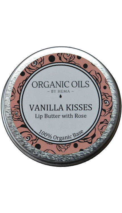 Vanilla Kisses Lip Butter with Rose