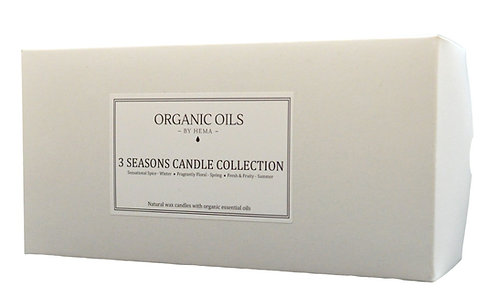 3 Seasons Candle Collection