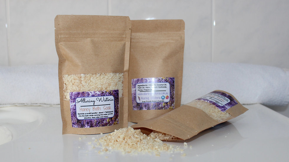Honey Bath Soak - NEW PRODUCT LINE