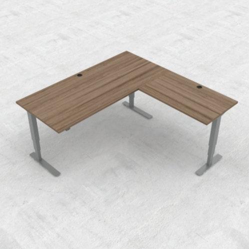 KON37 3-søyle hev/senk kontorbord