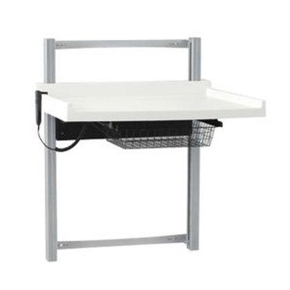 Vegghengt elektrisk stellebord for barn KON105