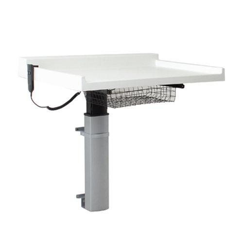Vegghengt elektrisk stellebord for barn KON121