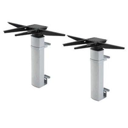 Vegghengt 2-søyle elektrisk hev/senk