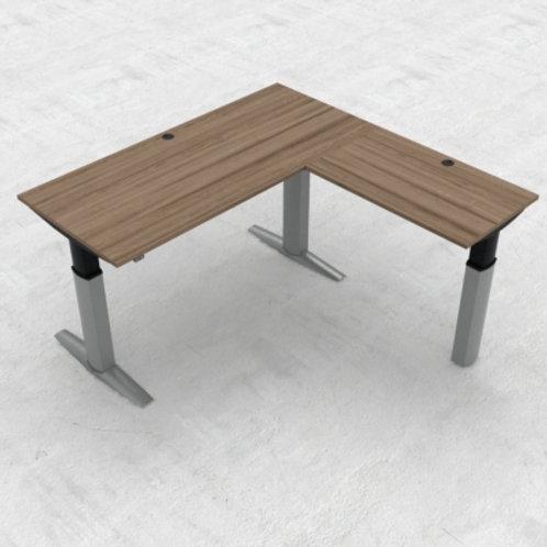 KON23 3-søyle hev/senk kontorbord