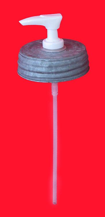 ZINC LID - SOAP/LOTION DISPENSER KIT - G160