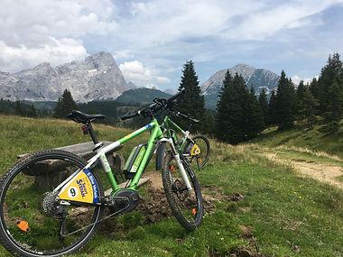 Mountainbiken mit Sport Stefan Filzmoos