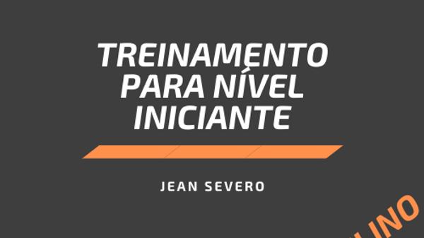 Ficha de Treinamento Masculino - Iniciante
