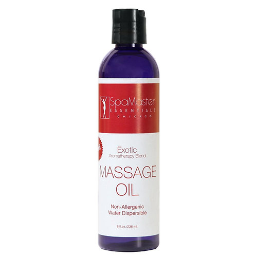 Master Massage  Exotic Dispersible Aromatherapy Oil 8 Oz