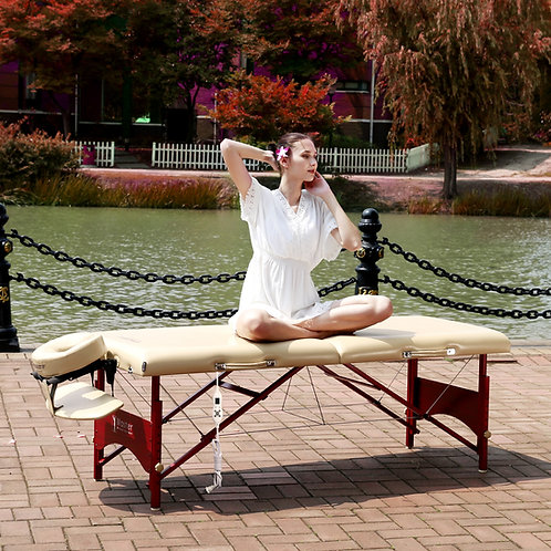 "Master Massage Patented 28"" Caribbean Therma Top Pro Table Pacakge Warming pad"