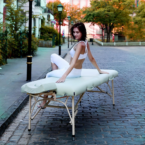 "Master Massage 30"" Bel Air Light Weight Aluminum Portable Massage Table"