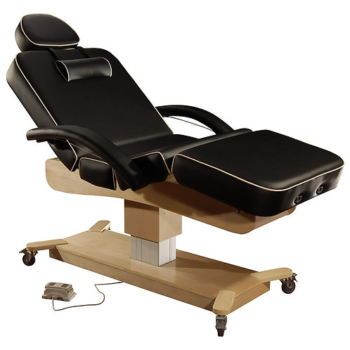 Mt Massage Maxking Deluxe 4 Section Elctric Lift Spa Salon Stationary Table Bed
