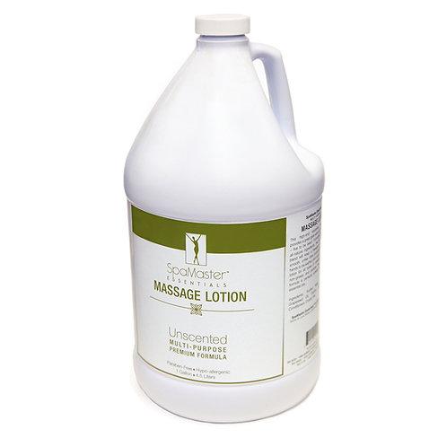 Master Massage Unscented Massage Lotion in 1 Gallon Bottle