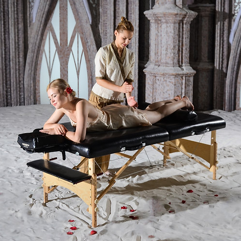 "Master Massage 32"" Extra Large Gibraltar LX Portable Table Beauty Salon Bed"