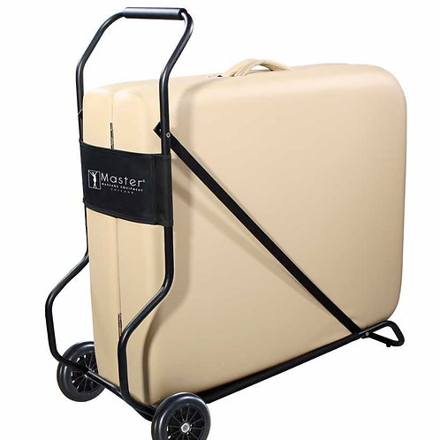 """Master Massage up to 32"""" Universal Wheeled Table Cart Trolley  Wheels Foldable"""