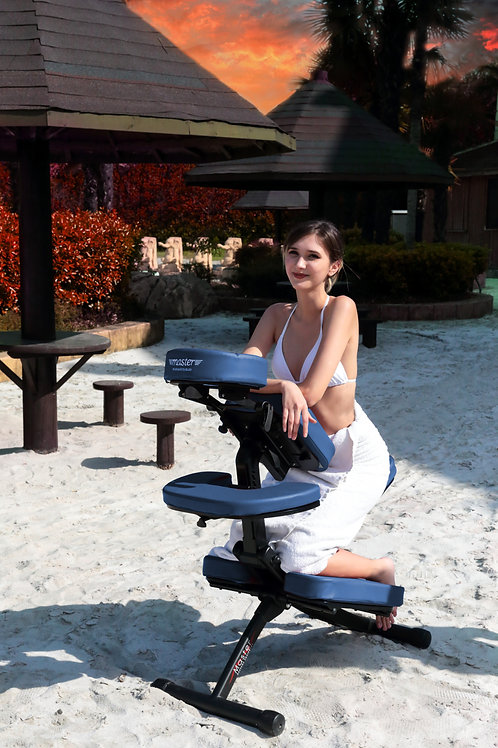 Master Massage Rio Portable Massage Chair - Agate Blue