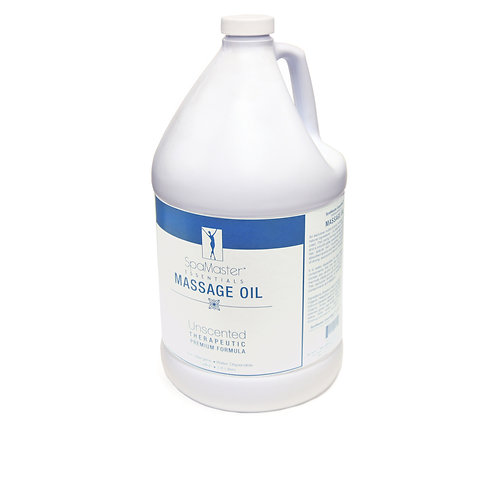 Master Massage Unscented  One Gallon Oil