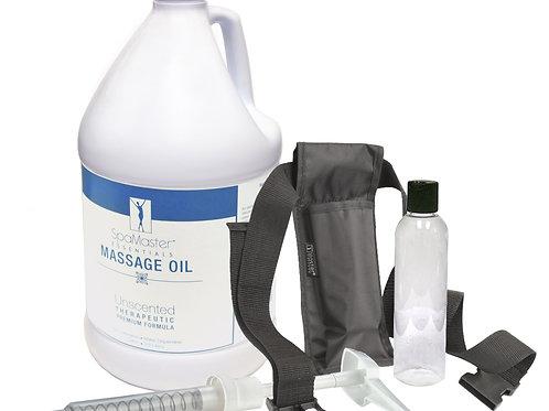 Master Massage Unscented  One Gallon Oil Kit