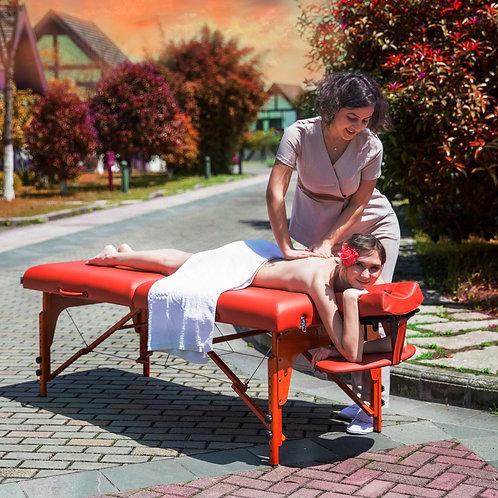 "Master Massage 31"" Extra Large Santana Pro Portable Massage Table Beauty Bed"