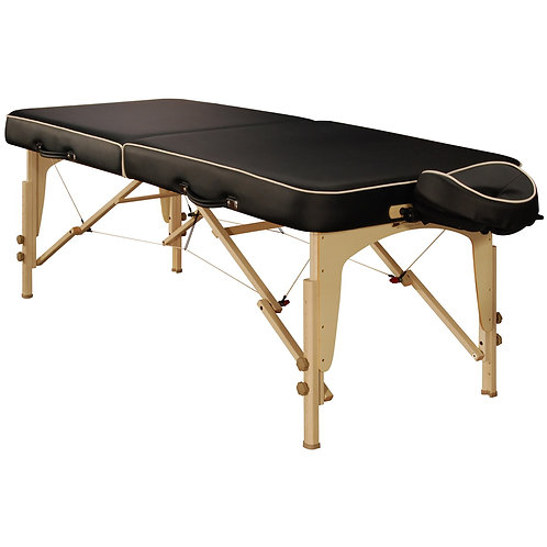 "Mt Massage 30"" Full Size Lotus Portable Massage Table Package Reiki End Panels"