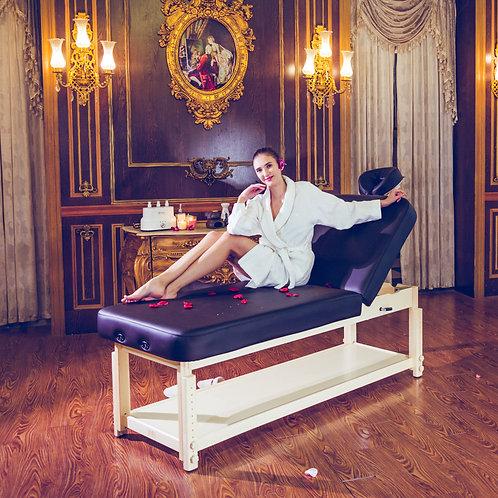 Mt Massage Harvey Tilt Stationary Massage Table two section Tilting Backrest Spa