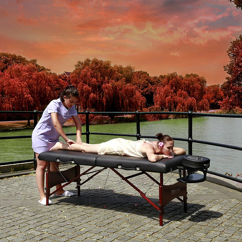 """Master Massage 30"""" Roma LX Portable Massage Table Deluxe Package"""