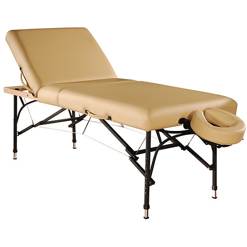 """Mt 29"""" Violet Tilt Salon Portable Aluminum Massage Table Package"""