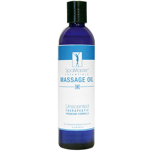 Master Massage Unscented Superior Grade Massage Oil  8oz Ounces Bottles