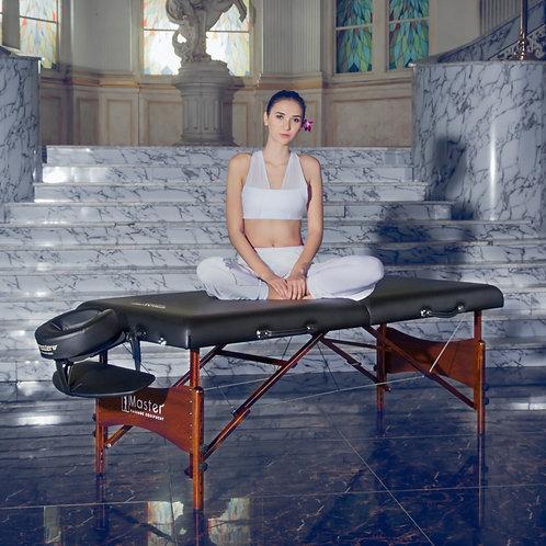 "Master Massage Newport 30"" Professional Portable Massage Table Package Black"
