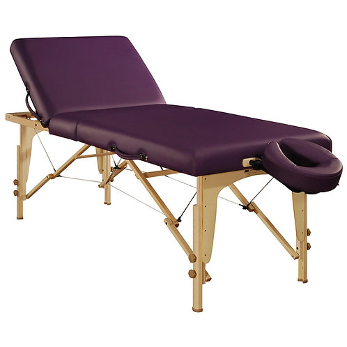 "Mt Massage 30"" Midas Tilt Portable Massage Table Package Backrest Table"