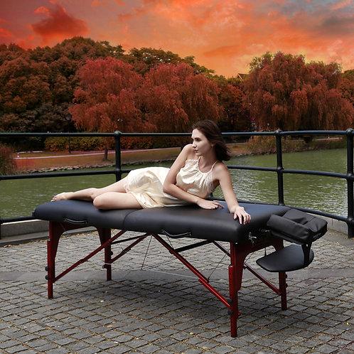 "Master Massage 31"" Extra Wide Montclair Pro Memory Foam Portable Massage Table"