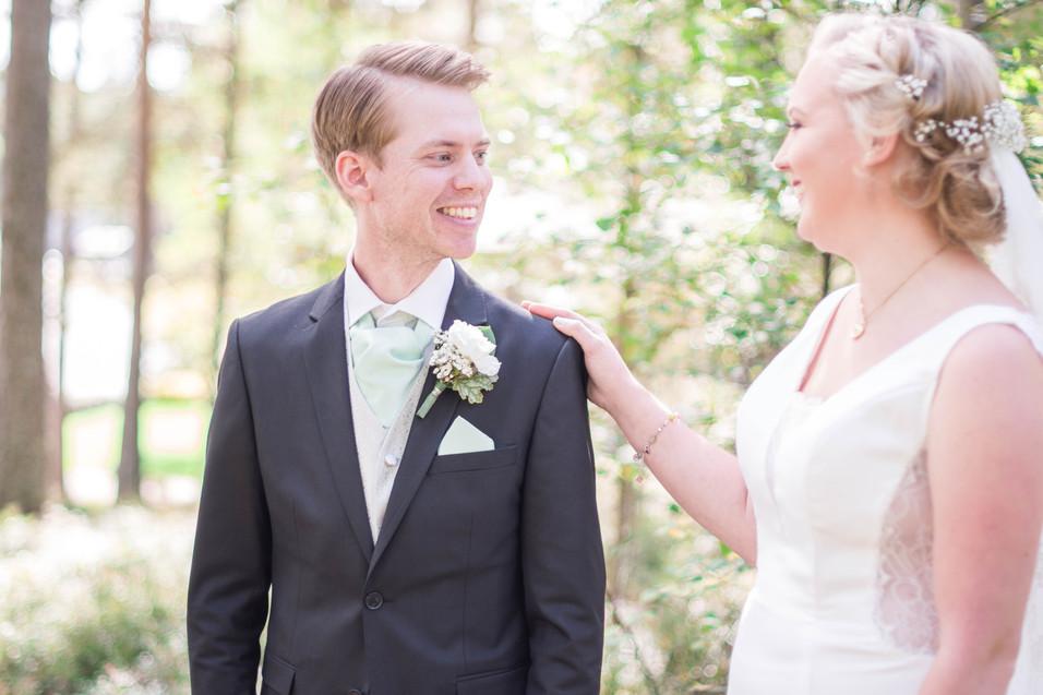 Bröllopsfotograf Hestra, bröllopsfotografering Hestra