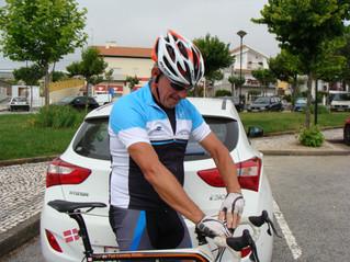 Første cykeltur i Portugal
