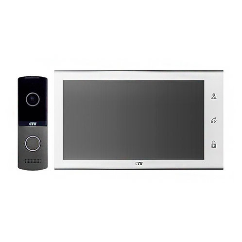 Комплект видеодомофона CTV-DP2701 W белый