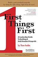 first things first, book, author, tom iselin
