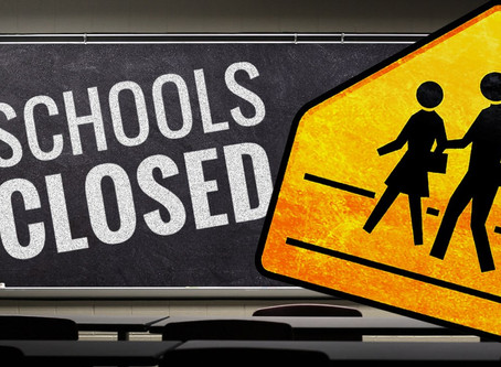 Due To Corona Virus:  School is closed effective today, Wednesday 3/18/2020 until further notice