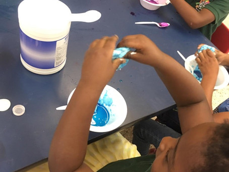 Our VPK Orlando Class Making Slime