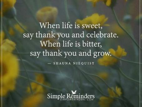 Take a deep breath to appreciate life
