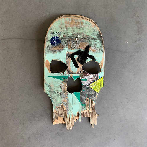 SkullDEX Broken Skateboard Ories