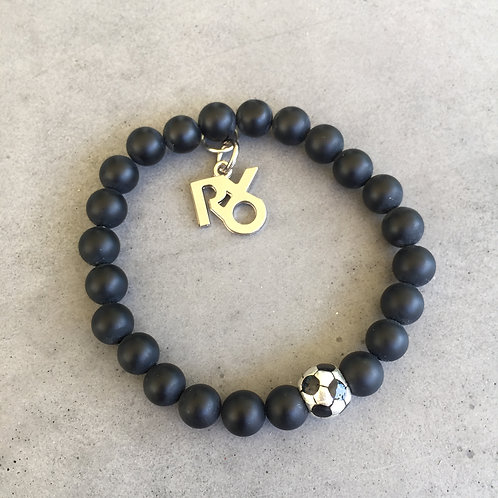 Soccer Bead Bracelet +RXO Charm