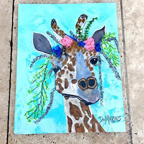 Baby Giraffe 11x14