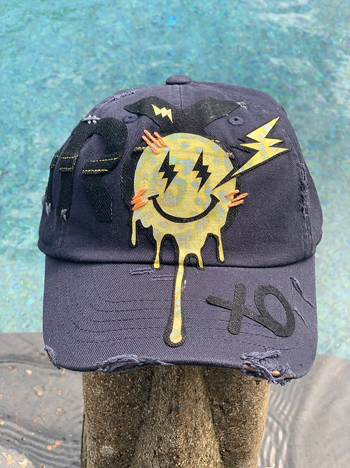 Electric Smile Patch Hat