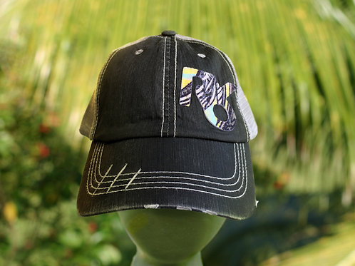 Psychedelic Frond Patch Hat