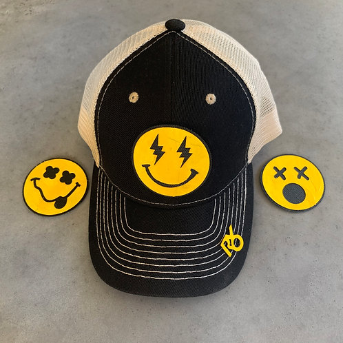 VELCRxO Mood Swing Patch Hat