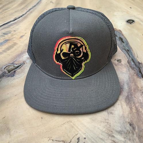 RetroDJ Masked Music Patch Hat