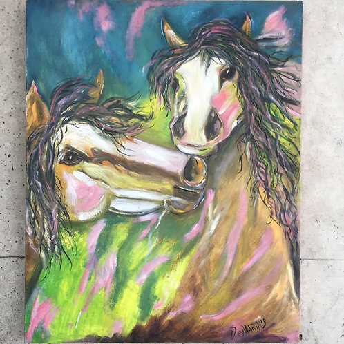 Horse Painting 24x30