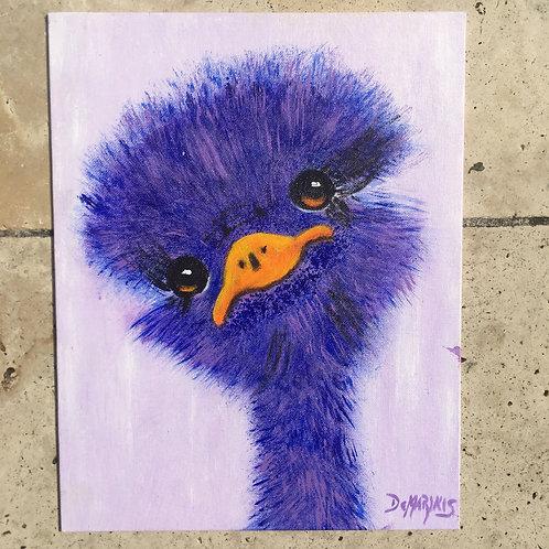 Emu Painting 11x14
