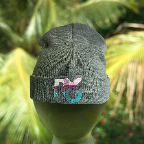 Gray MiKi Beanie cap
