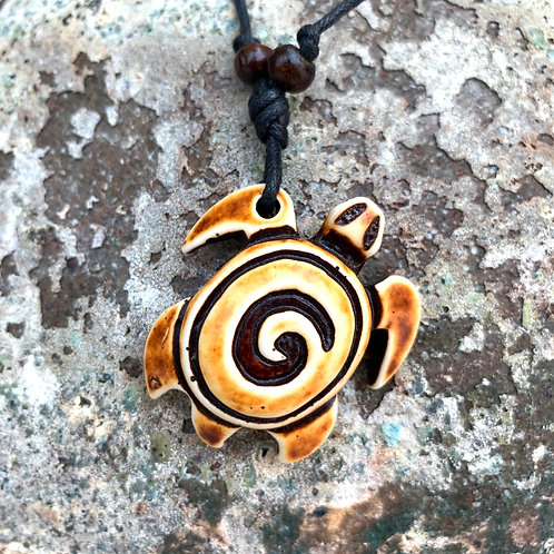 Swell Sea Turtle Necklace