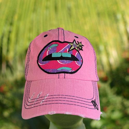 RXO LipStar Pink Hat xoxo