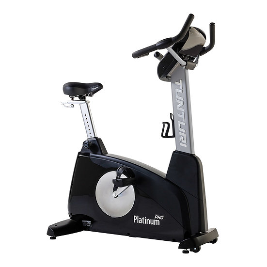 Tunturi Platinum Pro Upright Bike - Home fitness equipment